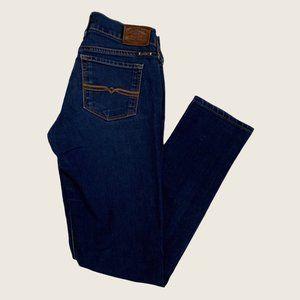 Lucky Brand Charlie Skinny Dark Wash Stretch Jeans
